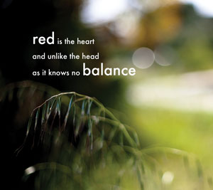 Red Balance by Anna Morley